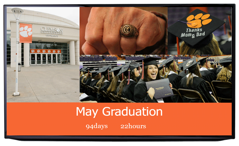 digital signage for schools, universities and colleges