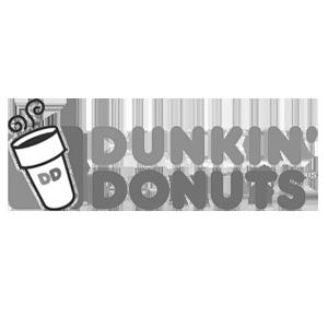 dunkin donuts digital signage